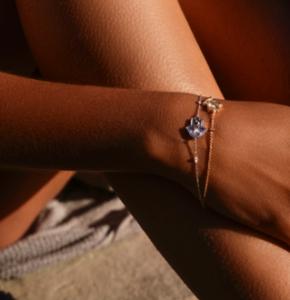 bracelet chainette neo beldi traditionnel or blanc et or jaune mounier bouvard